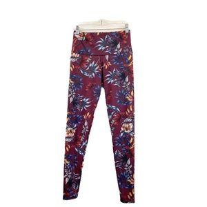 """Onzie Majestic Floral High Rise 29"""" Leggings S/M"""